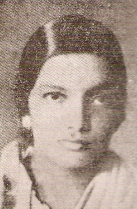 Photo of young kalpana datta during her college days